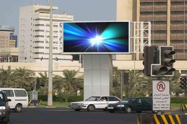 Cina SMD Outdoor Advertising LED Display, P8 Outdoor LED Module / LED Board pemasok